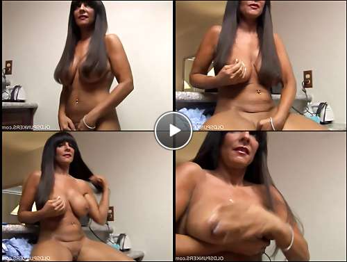 large mature boobs video